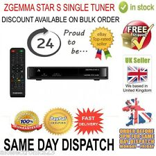Zgemma Star S HD Single Tuner Satellite Receiver Linux Operating System FTA IPTV