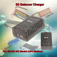RC B3 LiPo 2S-3S Battery Balancer Charger 7.4-11.1V For RC Helicopter T1B8