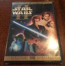 Star Wars Episode II: Attack of the Clones (DVD,2002, 2-Disc,WS)NEW Authentic US