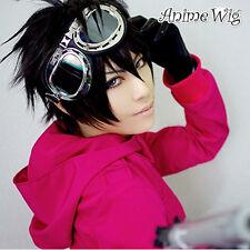 Cosplay Wig Kostüme Perück Sket Dance Yusuke Fujisaki Schwarz Kurz Haar