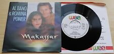 "AL BANO & ROMINA POWER - MAKASSAR - 45 GIRI 7"" + PROMO SHEET - GERMANY PRESS"