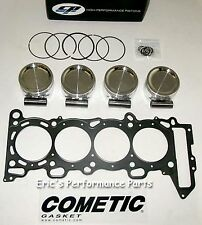 CP SC73241 Pistons and Head Gasket  for Nissan SR20DET 86mm 8.5:1 SR20