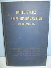 1947 US Naval Training Center, Companies 176-187, Great Lakes, Ilinois Yearbook