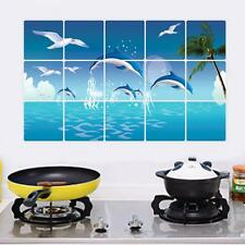 Waterproof Dolphin Kitchen Oilproof Removable Wall Stickers Vinyl Art Decor Home