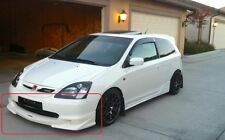 HONDA CIVIC VII 7TH EP EP3 MUGEN LOOK FRONT BUMPER SPOILER / LIP (2 piece)