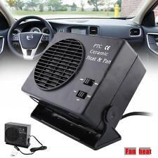 Réglable 12V Ventilateur Chauffage Dégivreur Ceramique Fan Heater Auto Voiture