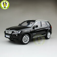 1/18 BMW X3 F25 xDrive 35i RMZ MODEL Diecast Model Car SUV Black