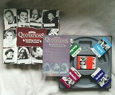 The Game Of Quotations Vintage MB Games Board Game