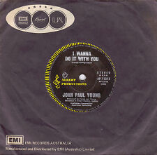 JOHN PAUL YOUNG I Wanna Do It With You / The Painting 45