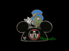 Pinocchio JIMINY CRICKET with his MICKEY Ears HAT Disney Pin