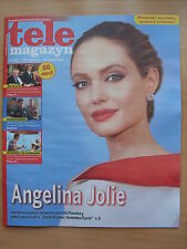ANGELINA JOLIE on front cover Polish Tele Magazyn 26/2014