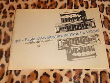 UP6 -École d'Architecture de Paris la Villette - Annuaire des diplômés 89