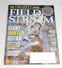NEW Field & Stream Magazine December 2015 Trophy Issue Holiday Gift Ideas