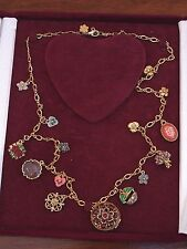 Joan Rivers Hearts and Flowers Victorian Language of flowers, necklace