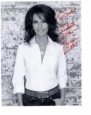 SUSAN LUCCI HAND SIGNED 7x9 PHOTO+COA      GORGEOUS SOAP ACTRESS    TO DAVE
