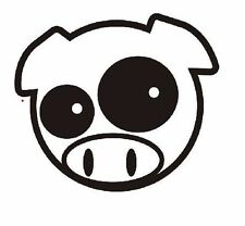 MANGA PIG Car Decal, Vinyl, Drift Sticker, Funny, JDM Subaru  VAG JDM EURO DUB