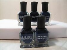 Lot 5 Deborah Lippmann Nail Lacquer Polish My Prerogative Dark Blue Navy