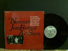 NEWPORT JAZZ FESTIVAL ALL-STARS  Various  DBL LP   GREAT !!