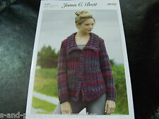 James C Brett Knitting Pattern JB335 ChunkyJacket