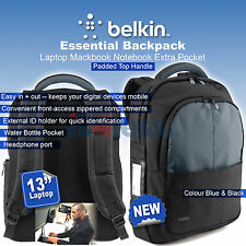 Belkin Bag Backpack 13'' For laptop MacBook Pro / Air Notebook Extra Pocket New