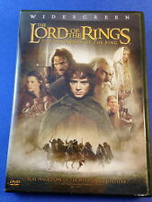 Lord of the Rings The Fellowship of the Ring(DVD/2002/2-Disc)Wood/McKellan/Tyler