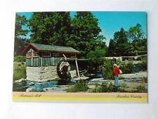 BATMAN'S MILL POSTCARD RAINBOW COUNTRY GRIST MILL CANADA