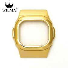 WILMA Chrome 18ct Gold Metal Bezel FOR G-Shock DW-5600 GWX-5600 C-5600-5A
