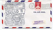 1971 Apollo 15 Surveillance Squadron Eglin AFB Florida NASA Space Cover