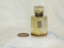 Vtg MINI empty Perfume SORTILEGE BOTTLE Glass Stopper Le Galion FRANCE Miniature