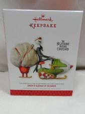 2013 Hallmark Keepsake Jack's Sleigh O'Scares The Nightmare Before Christmas