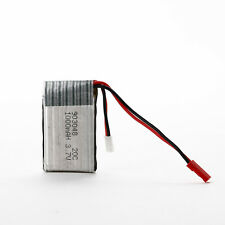 Universal 3.7V 20C 1000mAh Li-Po Battery Spare Backup with PCB for RC Quadcopter