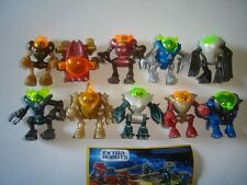 KINDER SURPRISE SET - EXTRA ROBOTS MECHS - TOYS FIGURES MINIATURES COLLECTIBLES