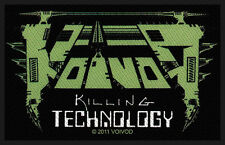 VOIVOD - Patch Aufnäher - Killing technology 10x6cm