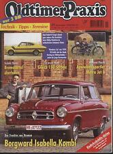 Oldtimer Praxis 11/1998 Borgward Isabella Wanderer Hanomag KV 50 Matra Opel