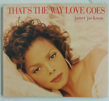 Janet Jackson That's The Way Love Goes Cd-single UK 1993 Digipack