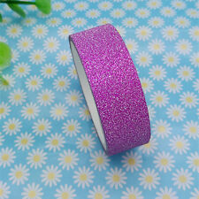 Hot 3m Glitter Washi Paper Masking Adhesive Tape Label DIY Craft Decorative 07