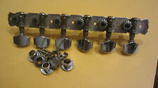 Vintage 1960's Harmony Electric Guitar Tuners Tuning Machines Silhouette Style