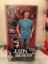 JUSTIN BIEBER STREET STYLE COLLECTION DOLL 2011 MINT IN PACKAGE NRFB