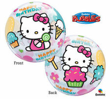 HELLO KITTY Bubbles Stretchy Happy Birthday Party Balloon Decoration