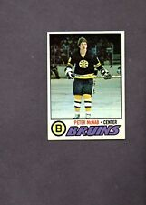 1977 Topps Hockey Set PETER McNAB CARD # 18 NICE!!!!!