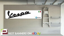 VESPA SCOOTER WORKSHOP GARAGE Banner PIAGGIO, 150GS, 250 GTS PRIMAVERA