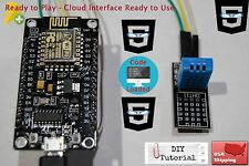 DHT11 +NodeMcu ESP-12E WIFI +Code Cloud Data Ready To Use Temperature & Humidity
