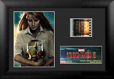 Film Cell Genuine 35mm Framed & Matted Disney Marvel Iron Man 3 USFC6049 S7