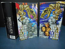 Video VHS tapes Metallica – A Year and a Half In The Life of Part 1 and Part 2