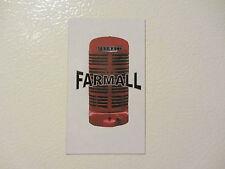 FARMALL GRILL Fridge/tool box magnet