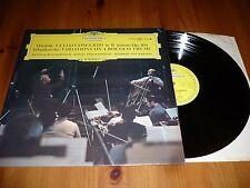 DGG 139044 DVORAK TCHAIKOVSKY cello ROSTROPOVICH Karajan BPO UK EX+/EX+