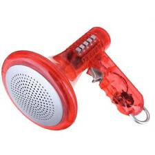 Amplifies Effects Red Voice Changer Robot Loud Superbright Kids Toy Megaphone