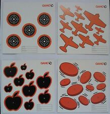Gamo Air Rifle, Gun, Pistol pellet targets - pack of 100 mixed 14cm sq .177 .22