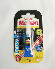 SUPER MOMENT Ultra Gel Flexible Super Glue Strong Instant Adhesive