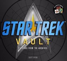 Star Trek Vault 40 Years from the Archives by Scott Tipton 2011 Hardcover Book